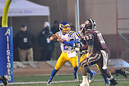 Oxford High's Jack Abraham (2) vs. Picayune in the MHSAA Class 5A championship game at Mississippi Veterans Memorial Stadium in Jackson, Miss. on Saturday, December 7, 2013. Picayune rallied to win 42-35.