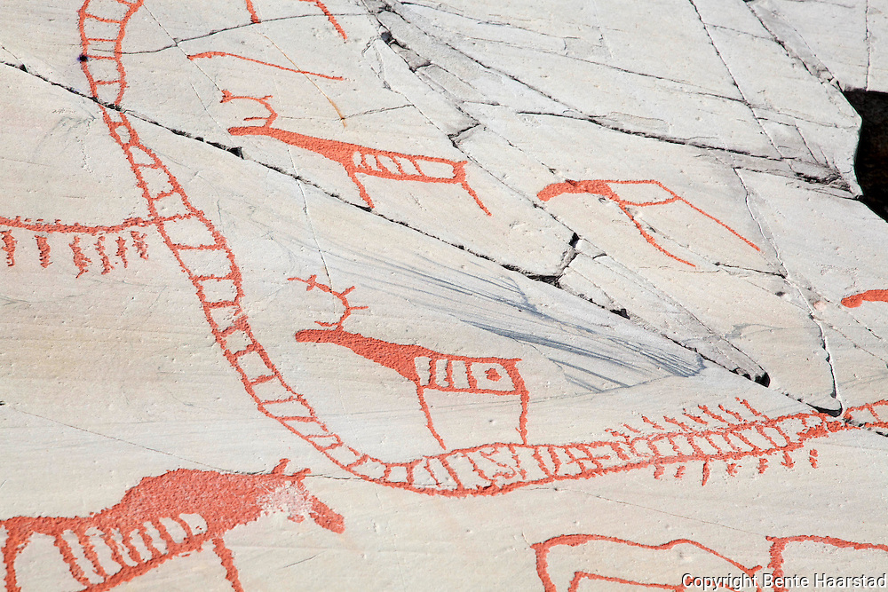 The Rock Art Museum, in Alta, Finnmark. World Heritage Site, Unesco.