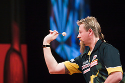 Simon Whitlock..2010 Whyte & MacKay Premier League Darts week nine, Glasgow SECC..©2010 Michael Schofield. All Rights Reserved.