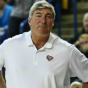 New York Liberty Head Coach BILL LAIMBEER seen in the fourth period of a WNBA preseason basketball game between the Chicago Sky and the New York Liberty Sunday, May. 01, 2016 at The Bob Carpenter Sports Convocation Center in Newark, DEL