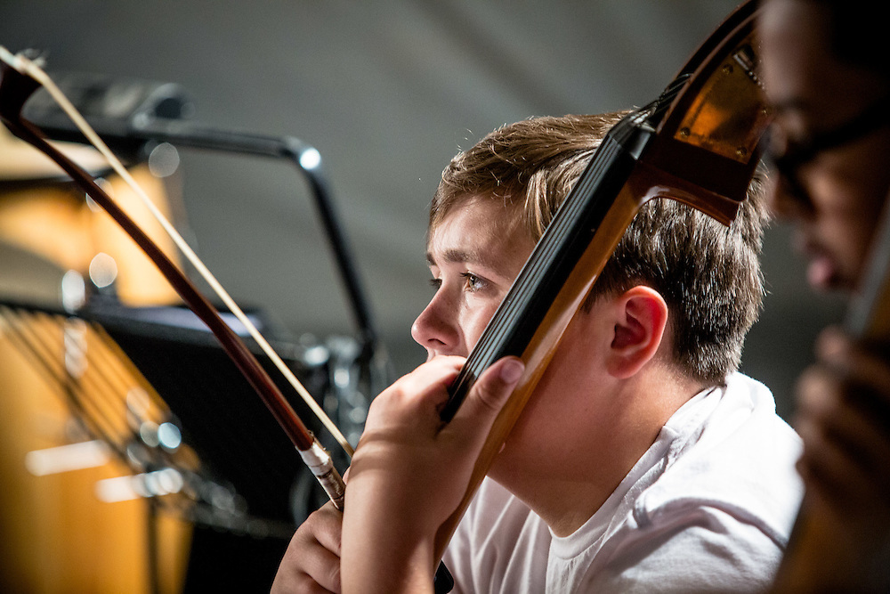 The Sistema England Young Leaders are the most skilled and committed young musicians from In Harmony Lambeth (London), In Harmony Liverpool, In Harmony Newcastle, In Harmony Telford, Sistema in Norwich and The Nucleo Project (London), coming together to create a vibrant new orchestra while developing leadership and life skills. These young leaders will come together in the week of 22 August to create a Sistema orchestra in Shrewsbury, Aug. 25 - 28, 2016 (Photos/Ivan Gonzalez)
