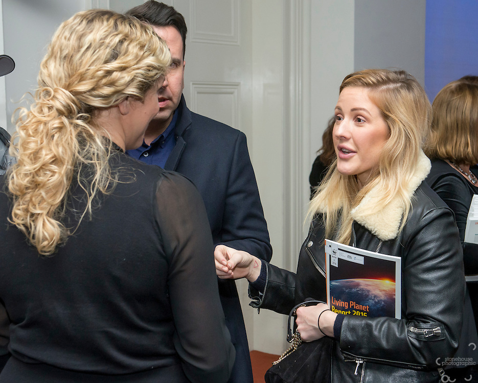 Ellie Goulding at the Inaugural WWF Living Planet Lecture at The Royal Society, London. 3/11/2016
