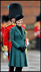 MAR 17 2013 DOC attends The Irish Guards' St Patrick's Parade