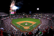 PHILADELPHIA - OCTOBER 29: Fireworks celebrating the World Series victory of the Philadelphia Phillies against the Tampa Bay Rays during the continuation of game five of the 2008 MLB World Series on October 29, 2008 at Citizens Bank Park in Philadelphia, Pennsylvania.The Phillies defeated the Rays 4 to 3 to win the 2008 World Series. *** Local Caption ***