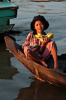The Tonle Sap is a combined lake/river system of importance to Cambodia and Southeast Asia. The area is home to several communities living in floating villages around the lake.  The stilt and floating villages come into their own during the monsoon seasons, otherwise the lake is very shallow and difficult to manage.