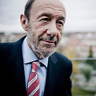 Alfredo Perez Rubalcaba, leader of the Spanish Socialist Workers' Party (PSOE - Partido Socialista Obrero Español), Prime Ministerial candidate for the 2011 Spanish general elections on the 20th November. Credit: Alberto Paredes / 4SEE. NOT AVAILABLE IN SPAIN.