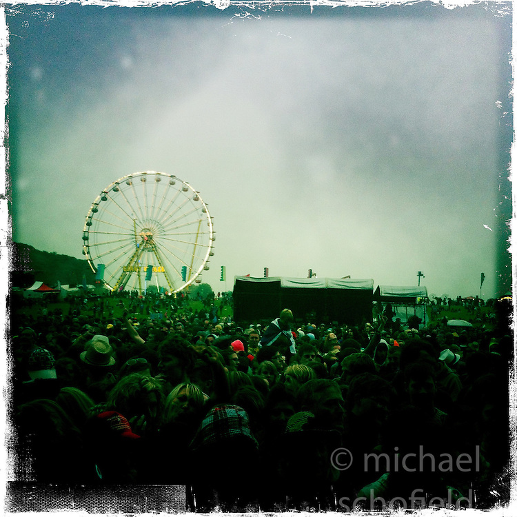 Rockness Festival 2012..Hipstamatic images taken on an Apple iPhone..©Michael Schofield.