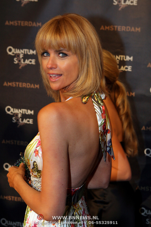 NLD/Amsterdam/20081104 - Première James Bond film Quantum of Solace, Daphne Deckers
