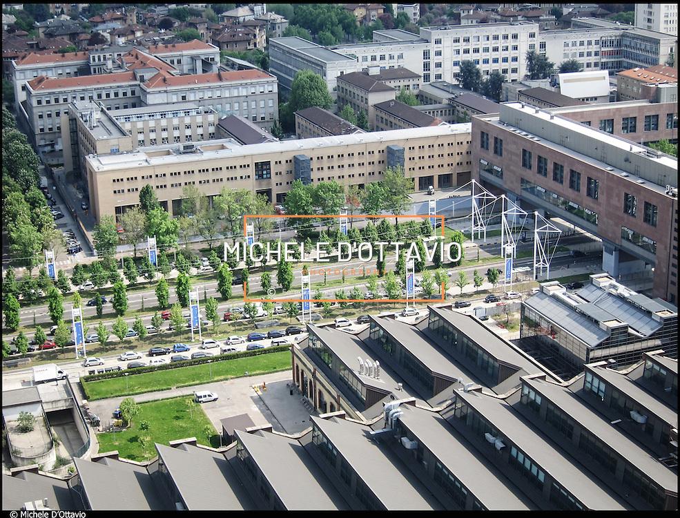 Veduta aerea della cittadella del Politecnico di Torino
