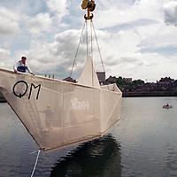 George Wyllie's Paper boat