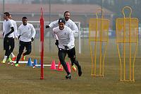 Vinovo 21.02.2017 - Allenamento di vigilia di Porto-Juventus - Champions League 2016-17 - Nella foto:  Paulo Dybala - Juventus