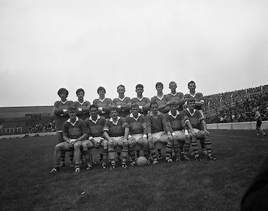 All-Ireland Semi-Finals, Kerry v Derry.  Senior Kerry Team..23.08.1970
