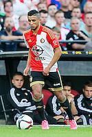 ROTTERDAM - Feyenoord - Olympiakos FC, Voetbal , Seizoen 2015/2016 , oefenwedstrijd , Stadion de Kuip , 01-07-2015 , Speler van Feyenoord Bilal Basaçikoglu