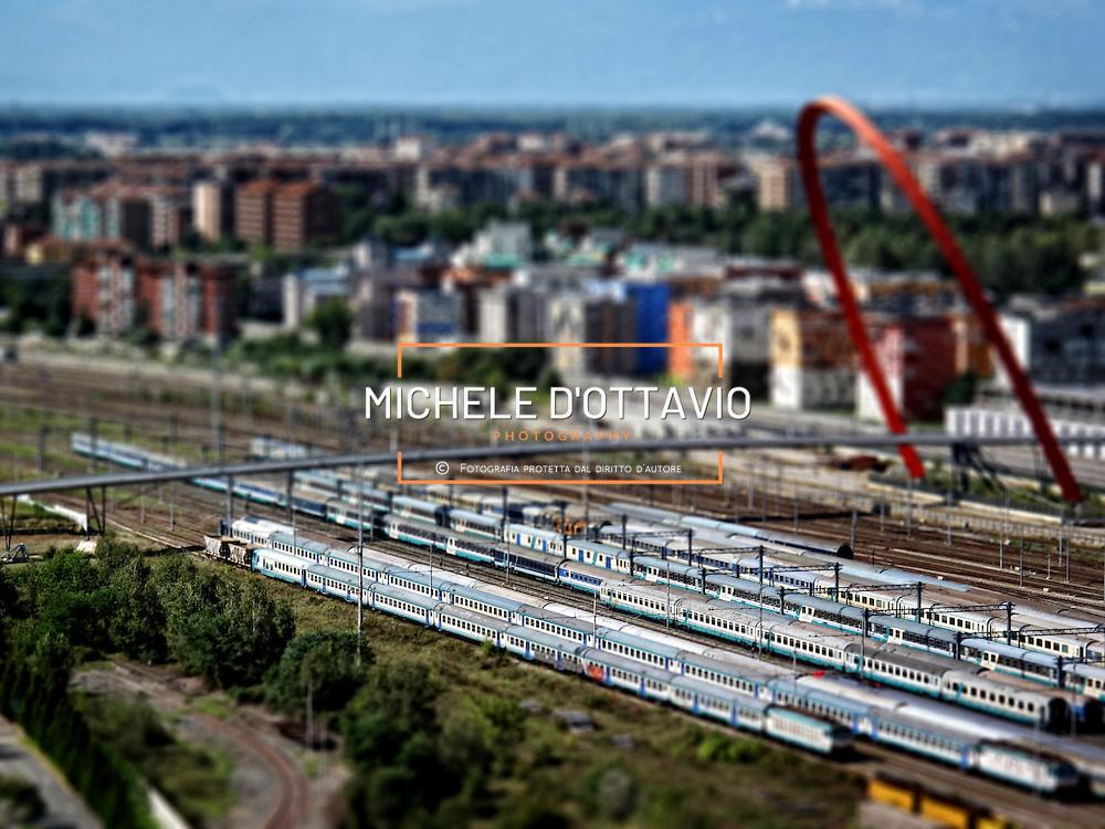 Arco olimpico stazione Lingotto..Torino pocket-size