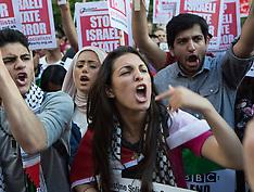 JUL 15 2014 Demonstration against BBC Israel-Palestine reporting