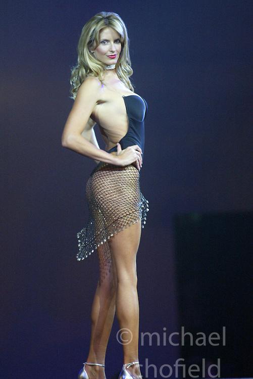 penny lancaster in lingerie