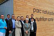 12/10/11 - SAINT BONNET DE ROCHEFORT - ALLIER - FRANCE - Dirigeants des entreprises du Naturopole - Photo Jerome CHABANNE