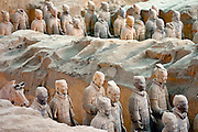 The Terra Cotta Warriors and Horses are the most significant archeological excavations of the 20th century. Work is ongoing at this site, which is around 1.5 kilometers east of Emperor Qin Shi Huang's Mausoleum in Lintong, Xian, Shaanxi Province.