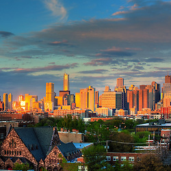 The Chicago Skyline - Chicago Stock Images