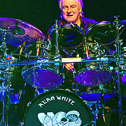 Alan White of Yes performing at ACL Live, Austin, Texas, March 14, 2013.
