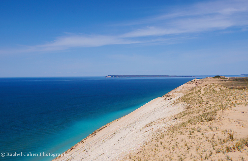 &quot;Sleeping Bear Dunes&quot;1<br /> <br /> Wonderful deep blue waters of Lake Michigan, and beautiful sand dunes at Sleeping Bear Dunes National Lake Shore in Michigan!