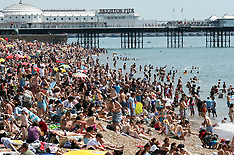 JULY 13 2013 Heatwave in the UK continues
