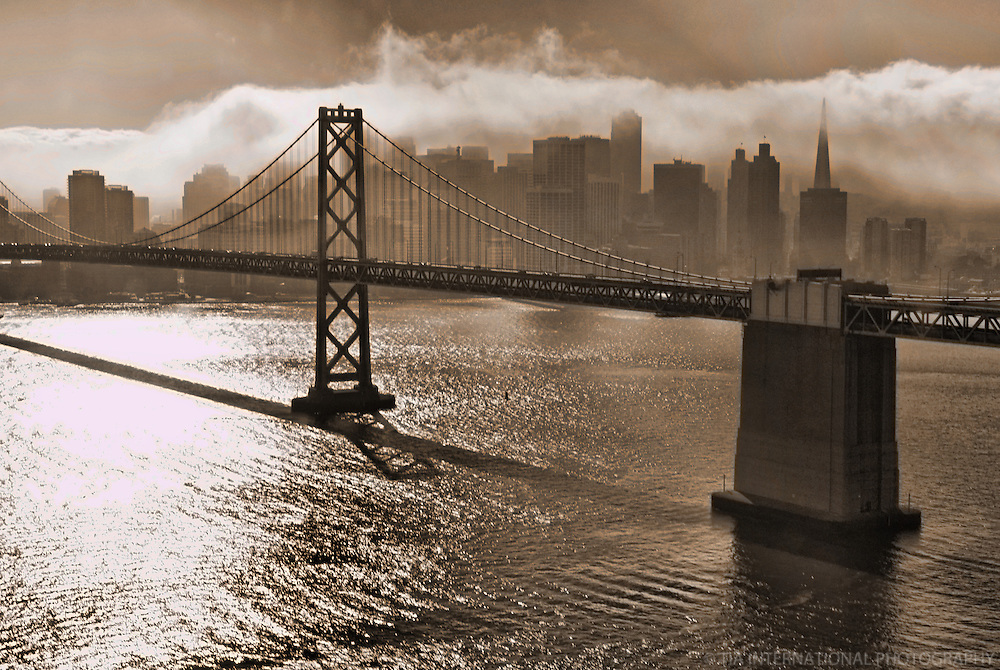 Bay Bridge & San Francisco Skyline