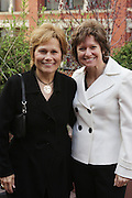 """30 March 2010-New York, NY- l to r: Louise Guido and Sharon Melnick at The Foundation for Social Change Announcement of Grammy Award-Winning Vocalist Patti Austin as The National Spokesperson for The Foundation for Social Change held at Longchamp on March 30, 2010 in Soho, New York City..The Foundation for Social Change mobilizes businesses to implement initiatives that benefit both their bottom line and the economic growth of their surrounding communities. We are a not-for-profit corporation focused primarily on U.S. issues. Our work is based on the principle: ?""""Do good to get good."""""""