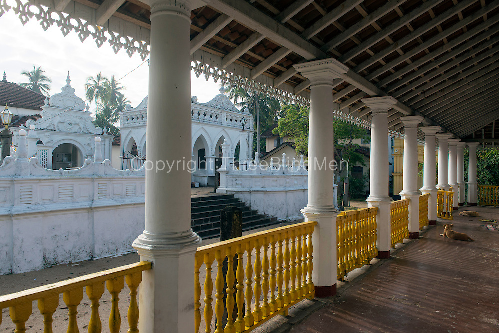 The Buddhist Temple at Amblangoda.
