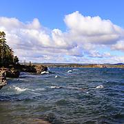 &quot;Scenic Presque Isle&quot;<br /> <br /> Beautiful lake scene on Lake Superior on Presque Isle in Marquette Michigan!