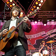 COLUMBIA, MD, -September 10th, 2011 - Okkervil River perform at  the 2011 Virgin Mobile FreeFest at Merriweather Post Pavilion.  The band, based in Austin, TX, released their sixth studio album, I Am Very Far, in May of this year. (Photo by Kyle Gustafson/FTWP).