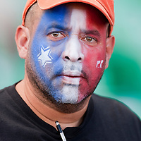 8 March 2009: Fan Carlos Maldonado of San Juan is seen during the 2009 World Baseball Classic Pool D match at Hiram Bithorn Stadium in San Juan, Puerto Rico. Dominican Republic wins 9-0 over Panama.