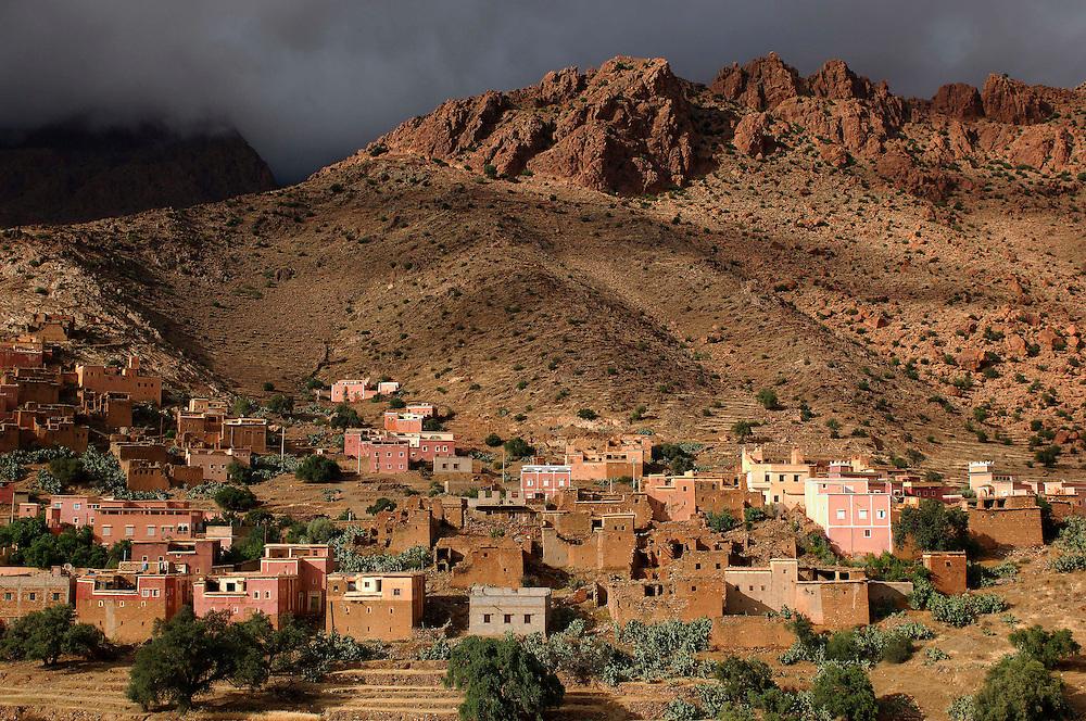 Town, Ameln Valley near Tafraoute, Morocco