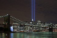 Tribute in Light from Empire-Fulton Ferry State Park