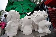 24/05/08 - TAIYUAN - SHANXI - CHINE - Mascottes des Jeux Olympiques de Pekin 2008 - Photo Jerome CHABANNE