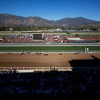 December 26 2014: Opening Day scenes at Santa Anita Park in Arcadia CA. Alex Evers/ESW/CSM