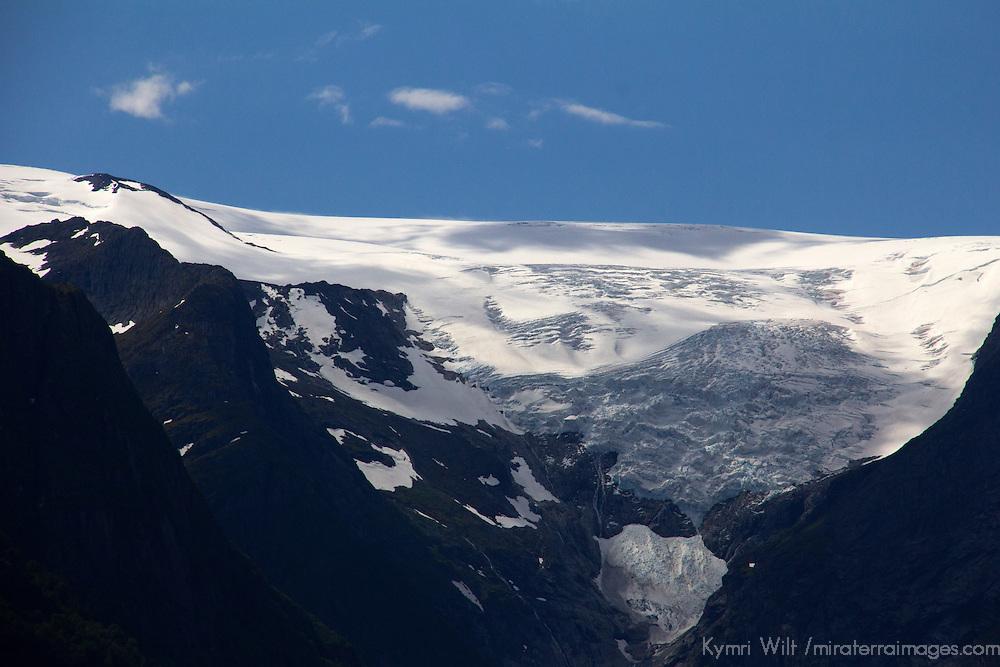 Europe, Norway, Olden. Jostedalsbreen glacier.