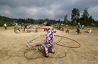 18th Rainbow Family gathering, La Verendry park, Quebec