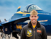 Created on a cold November day in the fall of 2011 at Pensacola Naval Air Station, Florida.  The following day was Captain Kurrle's last as a member of the Blue Angels.