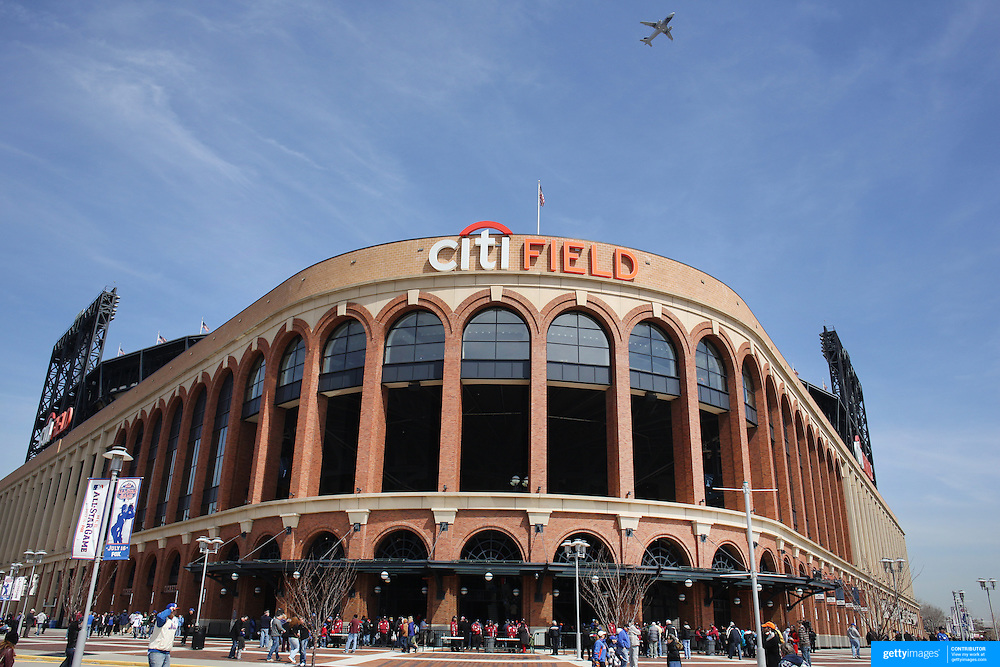 Citi Field, home of the New York Mets during the New York Mets V San Diego Padres Baseball game at Citi Field, Queens, New York. 5th April 2012. Photo Tim Clayton