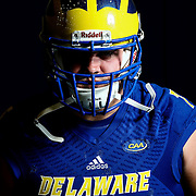 Photo of Delaware Offensive linemen Connor Bozick (75) taken Sunday, August 14, 2016, at Delaware Field House Facility on the campus of the university of Delaware in Newark.