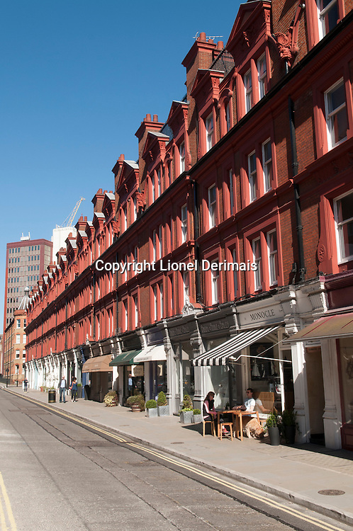 Chiltern Street, Marylebone, London.