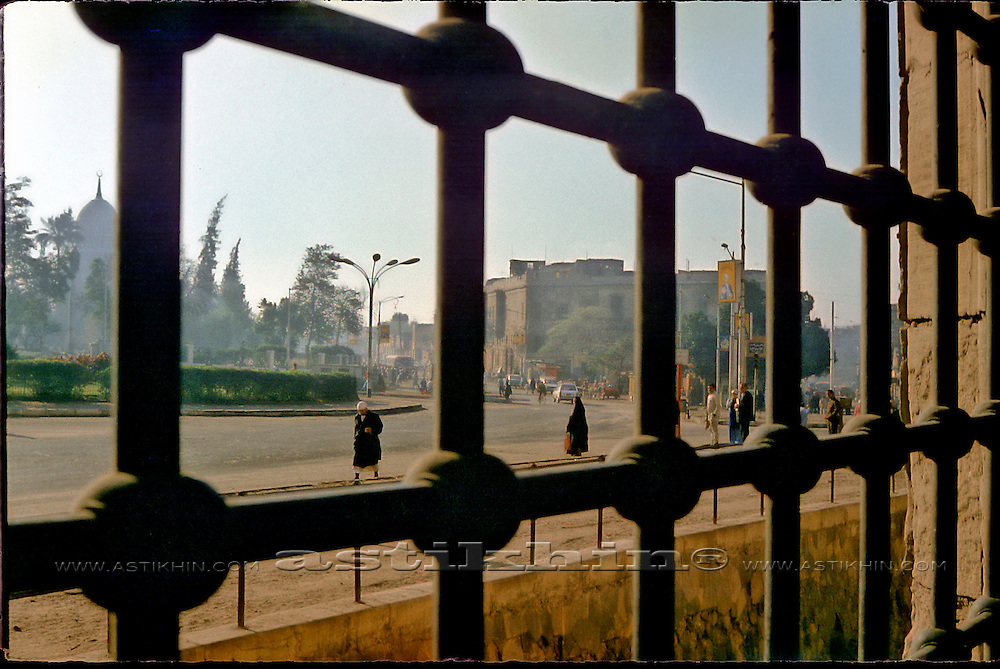 View from Mosque-Madrassa of Sultan Hassan