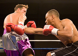 February 9, 2007 - Selden, NY - Tommy Rainone beats Ronny Glover via 2nd round KO on ESPN2's Friday Night Fights at Suffolk Community College in Selden, NY.