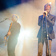 Washington, D.C. - May 28, 2010:  The National perform at DAR Constituion Hall.  The band is currently touring behind their latest album, High Violet, which entered the Billboard chart at number three. (Photo by Kyle Gustafson/For The Washington Post)