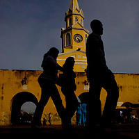 The Watch Tower Square in Cartagena, Colombia...Photo by Robert Caplin.
