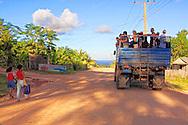 Truck in La Máquina, Guantanamo, Cuba.