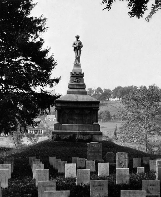 Cemetery, Fredericksburg, Virginia, 1926