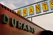 Iconic eateries in the Phoenix, Arizona metro area. All the restaurants have been in business for 50+ years. Durant's steakhouse.