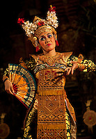 Dance is one of the main art forms of Balinese culture and is performed at temple festivals and ceremonies.   The most graceful of Balinese dances, Legong is the very ultimate in   Balinese classical dancing.  There are many forms of Legong, the most frequently performed dance being the Legong Keraton or Legong of the Palace.